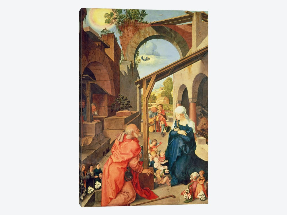 Central Panel, Paumgartner Altarpiece, c.1500 by Albrecht Dürer 1-piece Canvas Artwork