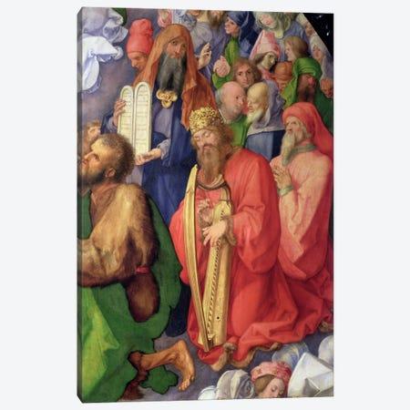 Detail Of King David, The Landauer Altarpiece, 1511 Canvas Print #BMN6559} by Albrecht Dürer Art Print