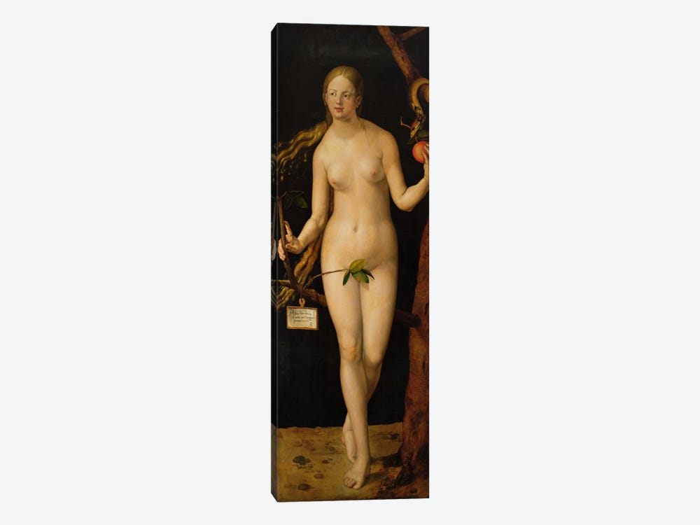 Eve, 1507 by Albrecht Dürer 1-piece Canvas Print