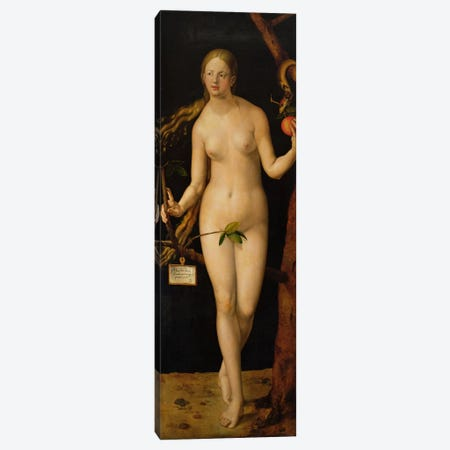 Eve, 1507 Canvas Print #BMN6562} by Albrecht Dürer Canvas Art