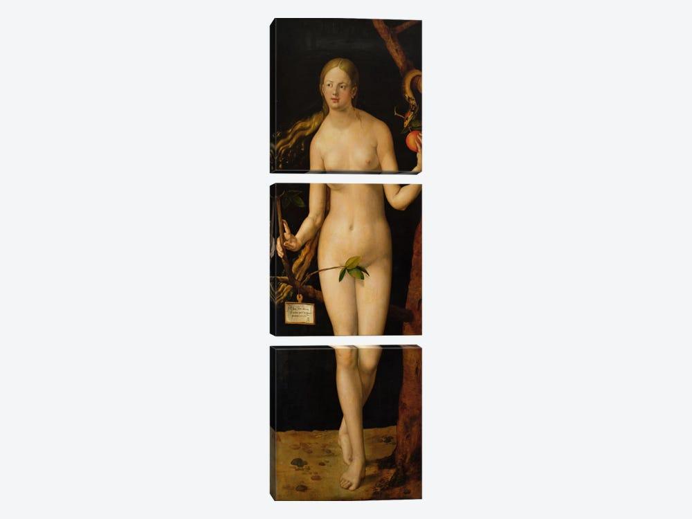 Eve, 1507 by Albrecht Dürer 3-piece Art Print