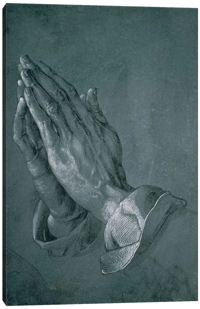 Hands Of An Apostle, 1508 Canvas Art Print
