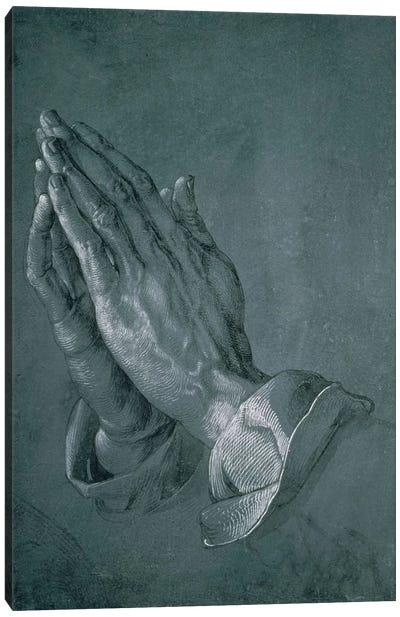 Hands Of An Apostle, 1508 Canvas Art Print