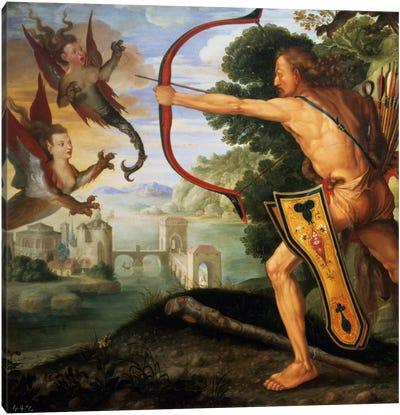 Hercules And The Stymphalian Birds, 1600 Canvas Art Print