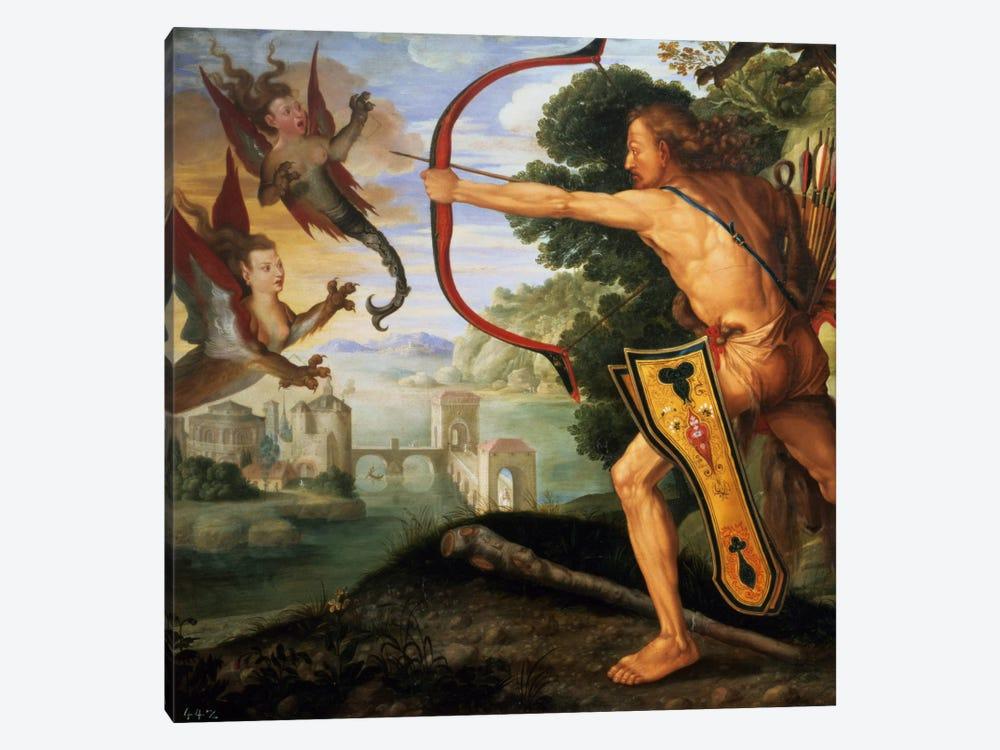 Hercules And The Stymphalian Birds, 1600 by Albrecht Dürer 1-piece Canvas Wall Art
