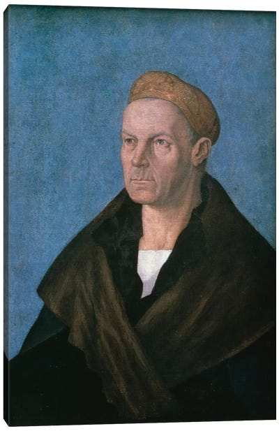 Jakob Fugger, The Rich Canvas Art Print