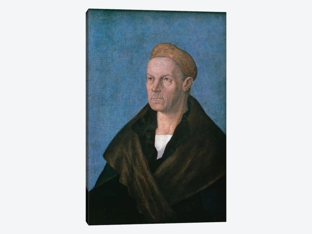 Jakob Fugger, The Rich by Albrecht Dürer 1-piece Canvas Art