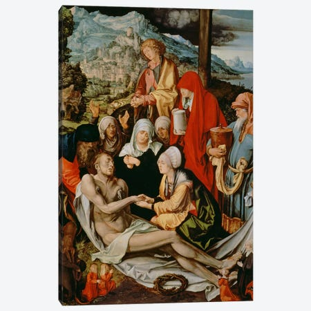 Lamentation For Christ, 1500-03 Canvas Print #BMN6572} by Albrecht Dürer Art Print