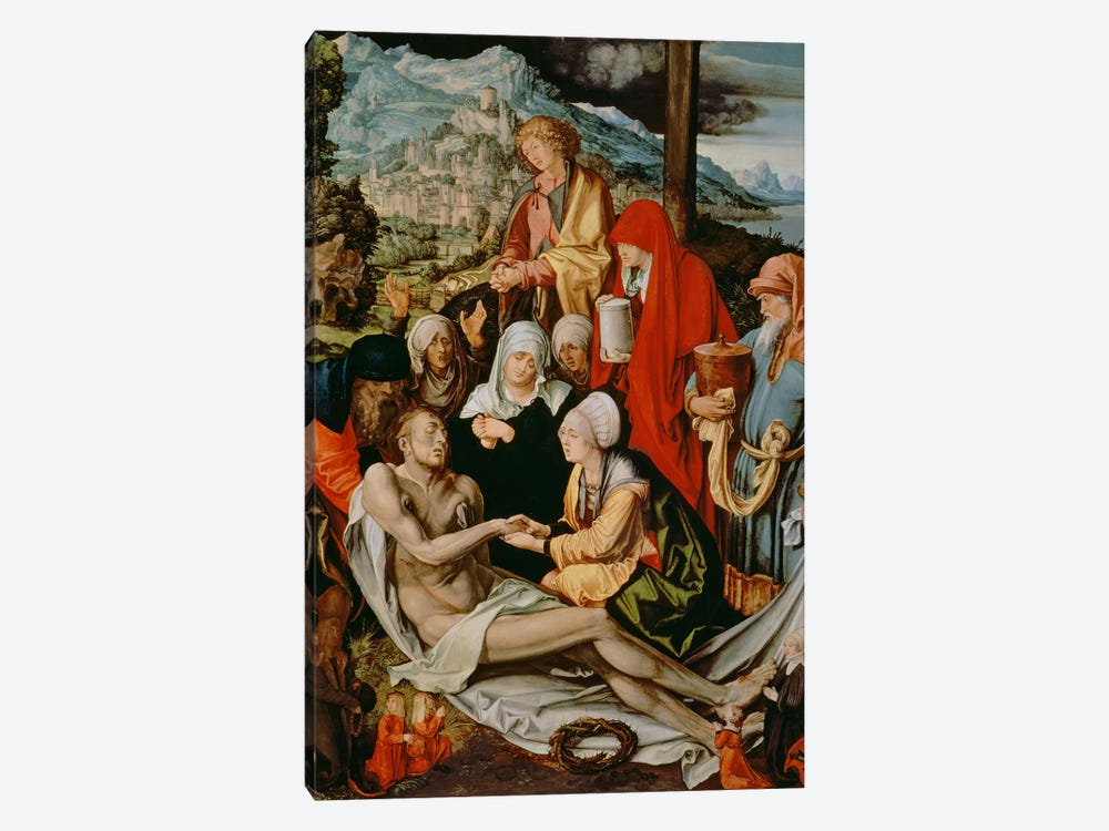 Lamentation For Christ, 1500-03 by Albrecht Dürer 1-piece Canvas Art