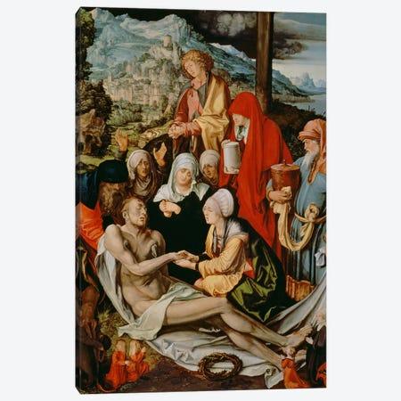 Lamentation For Christ, 1500-03 Canvas Print #BMN6572} by Albrecht Dürer Art Print