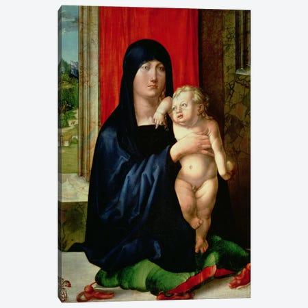 Madonna And Child, c.1496-99 Canvas Print #BMN6574} by Albrecht Dürer Canvas Art