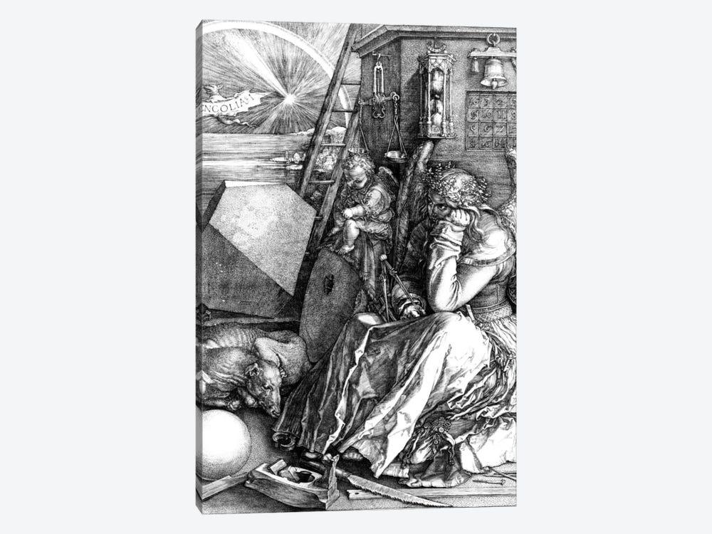 Melancholia, 1514 by Albrecht Dürer 1-piece Art Print