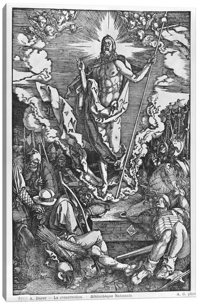 Resurrection (Illustration From The Great Passion) Canvas Art Print