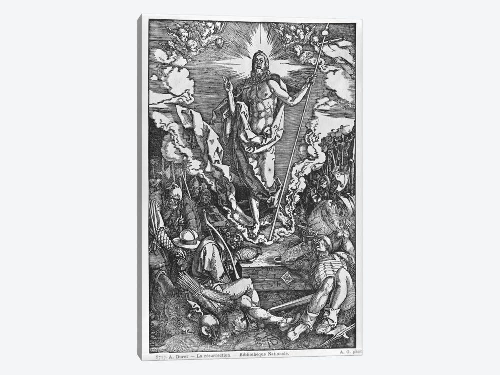 Resurrection (Illustration From The Great Passion) by Albrecht Dürer 1-piece Canvas Art