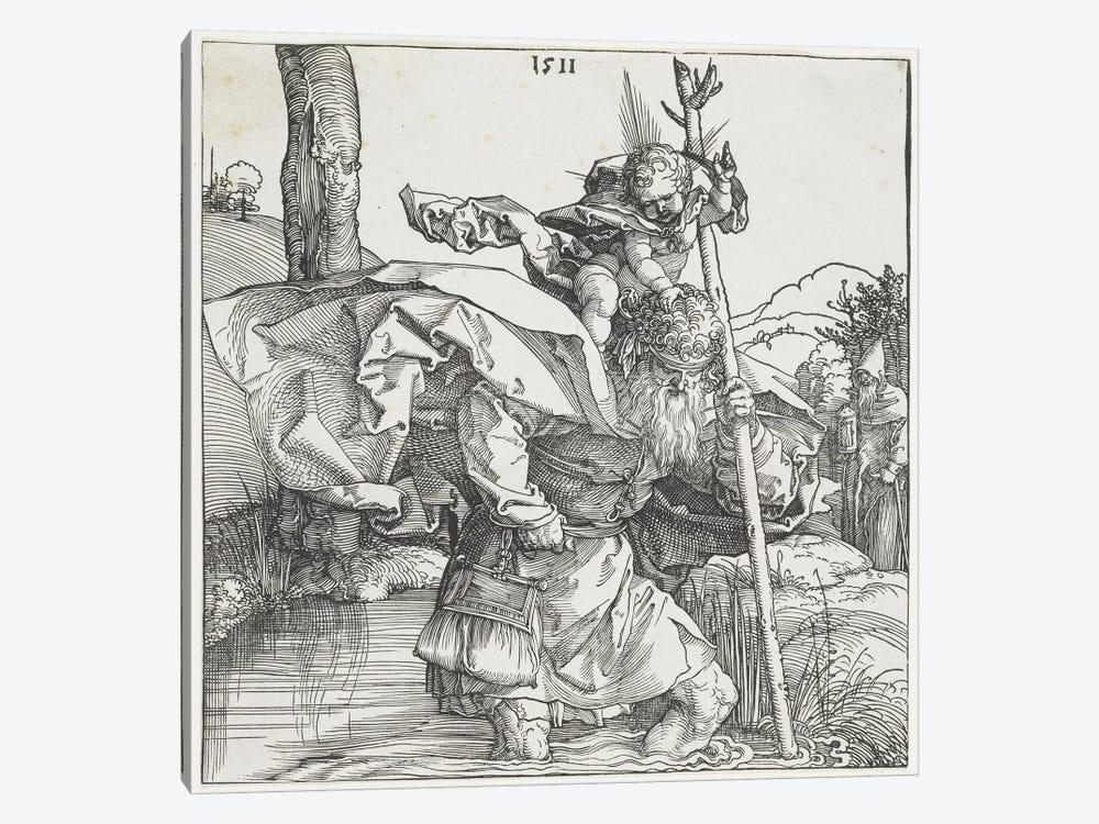 Saint Christopher, 1511 by Albrecht Dürer 1-piece Art Print