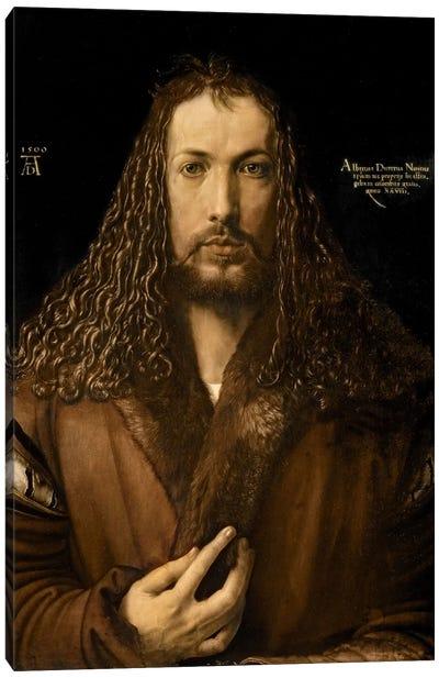 Self Portrait At The Age Of Twenty-Eight, 1500 Canvas Art Print