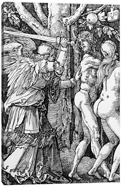 The Expulsion From Paradise, 1510 Canvas Art Print