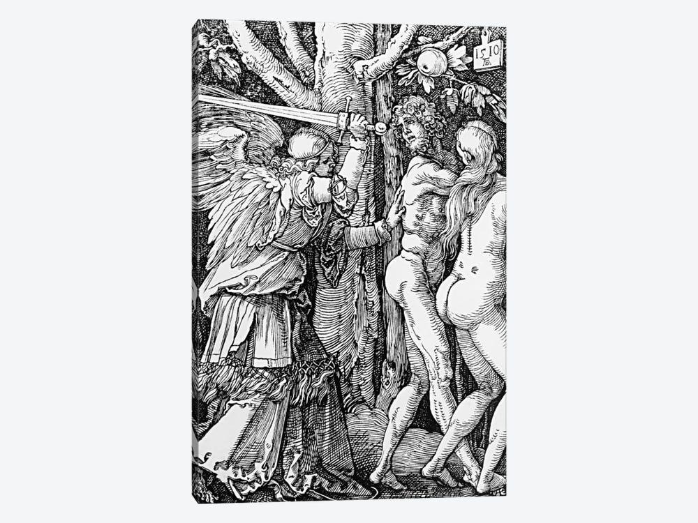 The Expulsion From Paradise, 1510 by Albrecht Dürer 1-piece Canvas Art Print