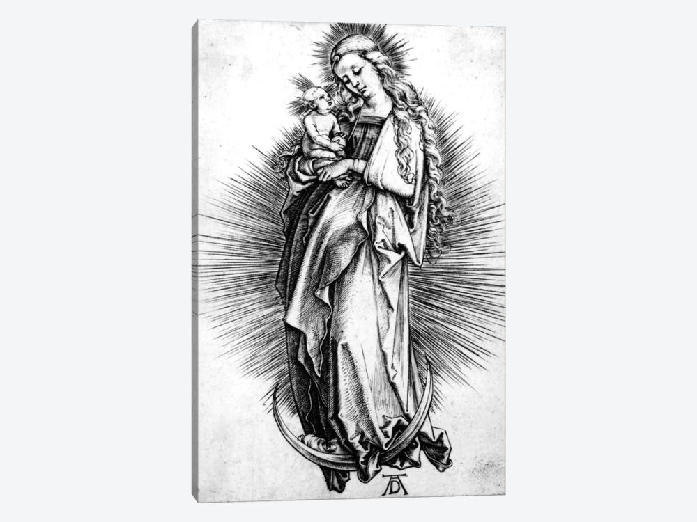 The Virgin And Child On A Crescent, 1499 1-piece Art Print