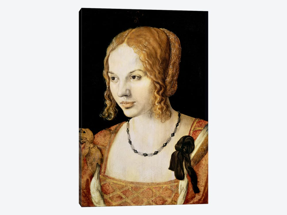 Young Venetian Woman by Albrecht Dürer 1-piece Art Print