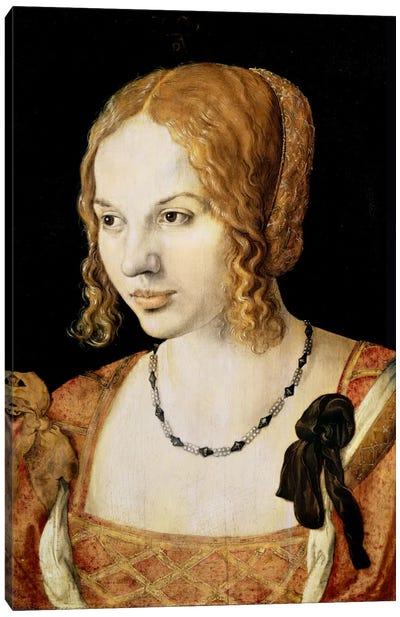 Young Venetian Woman Canvas Print #BMN6608