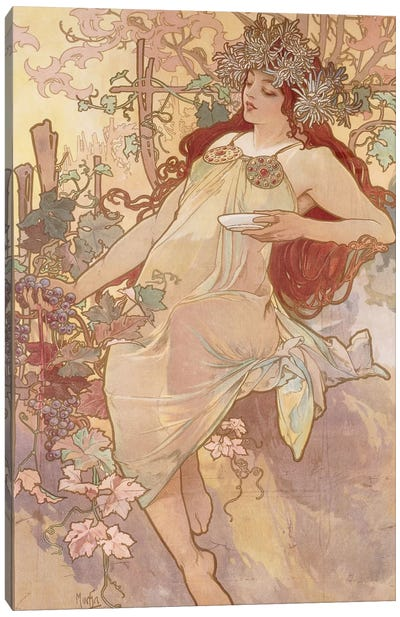 Autumn (Automne), c.1896 Canvas Art Print