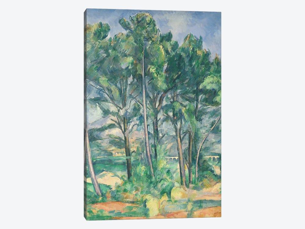 The Aqueduct  by Paul Cezanne 1-piece Canvas Print