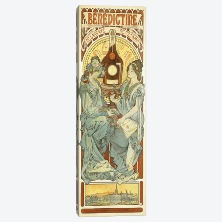 Benedictine, 1898 Canvas Print #BMN6610} by Alphonse Mucha Canvas Art