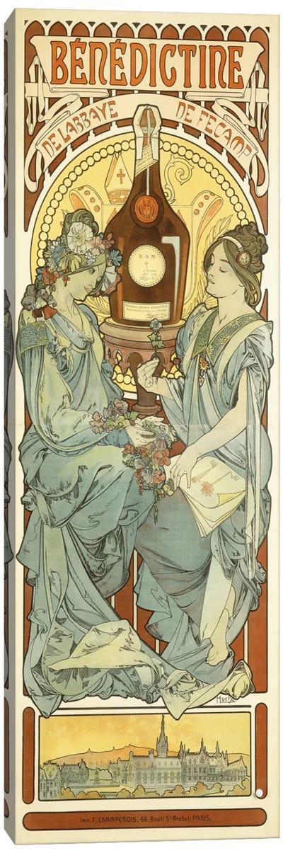 Benedictine, 1898 Canvas Art Print