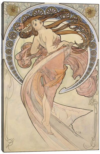 La Danse, 1898 Canvas Art Print
