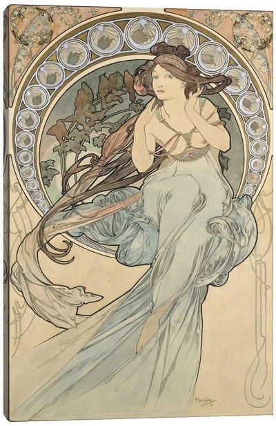 La Musique, 1898 Canvas Art Print