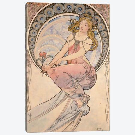 La Peinture, 1898 Canvas Print #BMN6622} by Alphonse Mucha Art Print