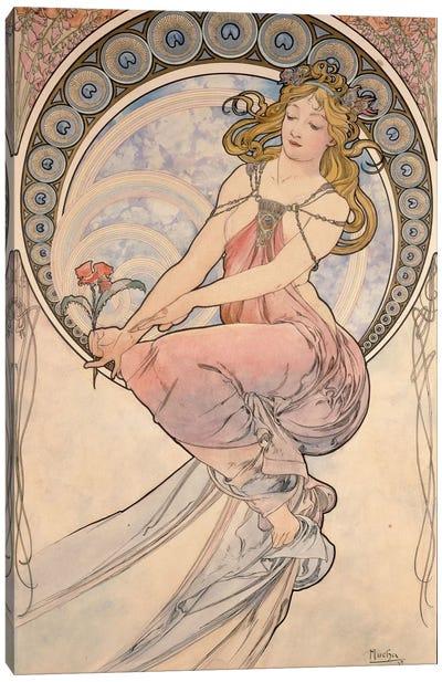 La Peinture, 1898 Canvas Art Print