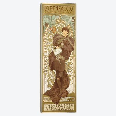 Lorenzaccio II (Featuring Sarah Bernhardt), 1896 Canvas Print #BMN6624} by Alphonse Mucha Canvas Wall Art