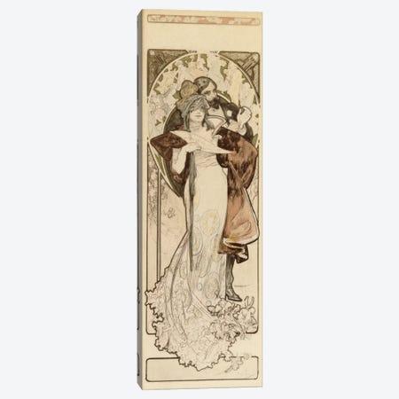 Programme 27 Octobre 1900 Maquette Canvas Print #BMN6629} by Alphonse Mucha Art Print