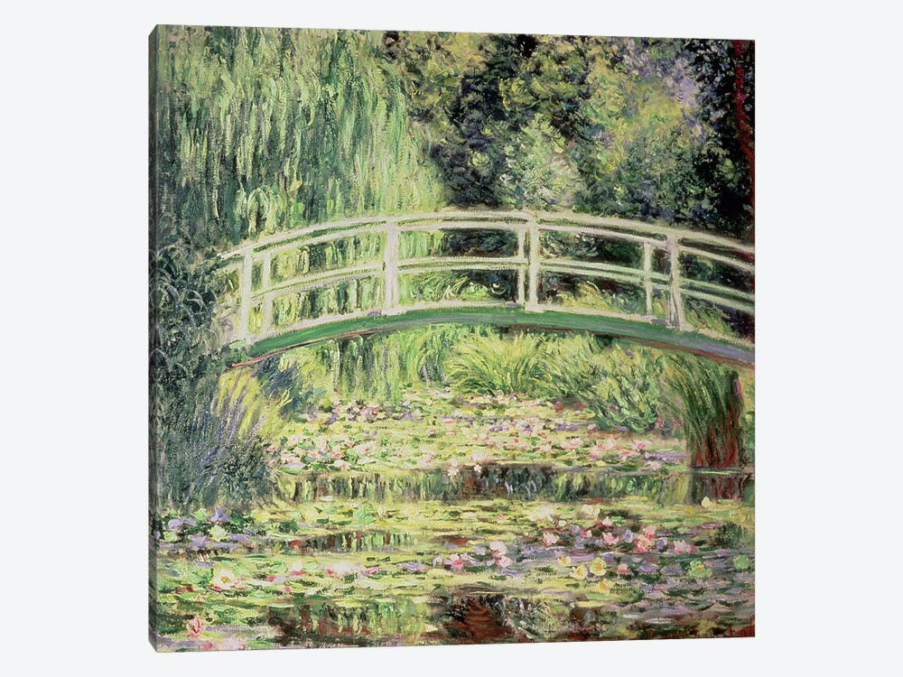 White Nenuphars, 1899 by Claude Monet 1-piece Canvas Print