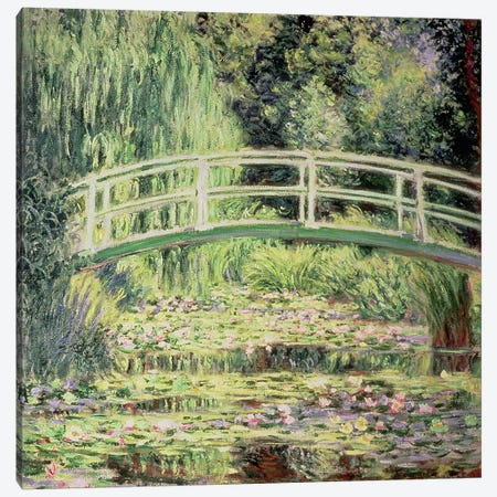 White Nenuphars, 1899 Canvas Print #BMN662} by Claude Monet Canvas Wall Art