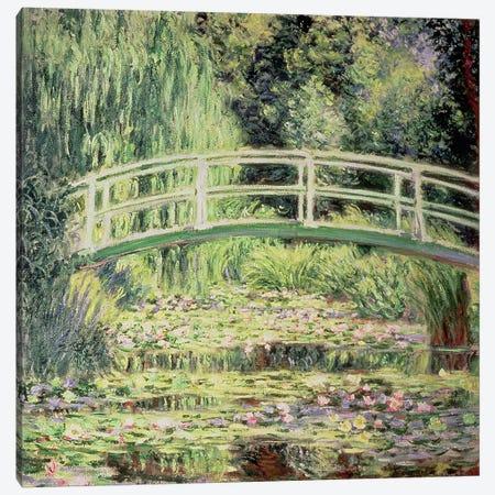 White Nenuphars, 1899 Canvas Print #BMN662} by Claude Monet Canvas Wall Art