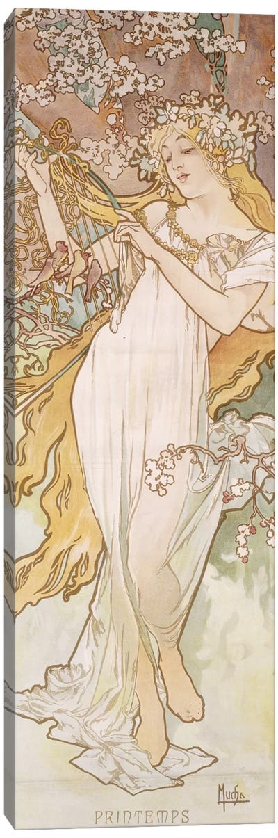 Spring (Printemps), c.1896 Canvas Art Print