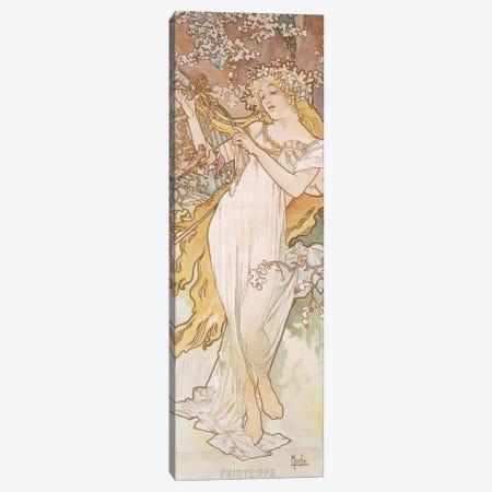 Spring (Printemps), c.1896 Canvas Print #BMN6633} by Alphonse Mucha Canvas Art