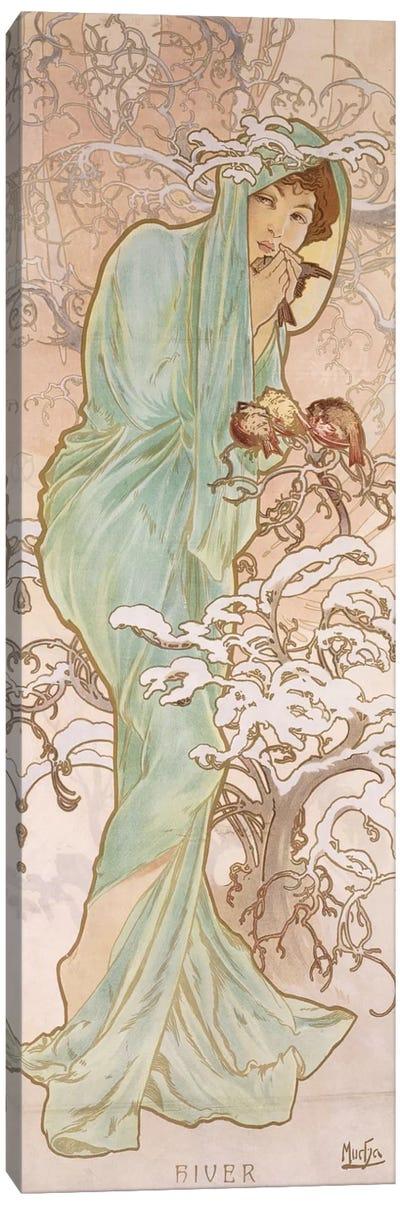 Winter (Hiver), c.1896 Canvas Art Print