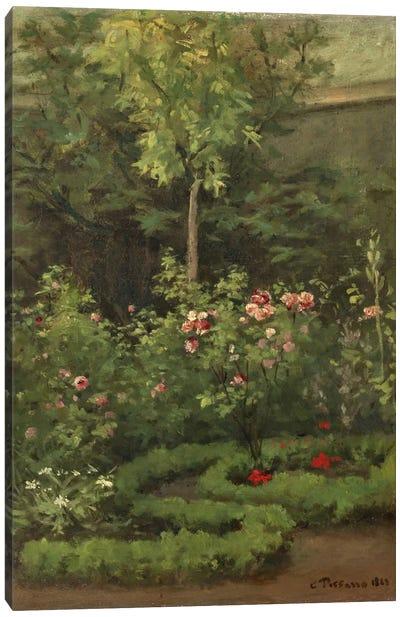 A Rose Garden, 1862 Canvas Print #BMN6640