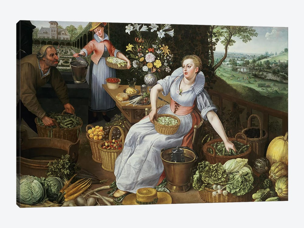 An Allegory of Summer by Lucas van Valckenborch 1-piece Art Print
