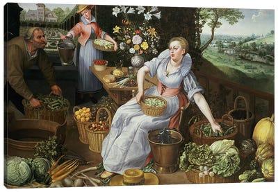 An Allegory of Summer Canvas Art Print