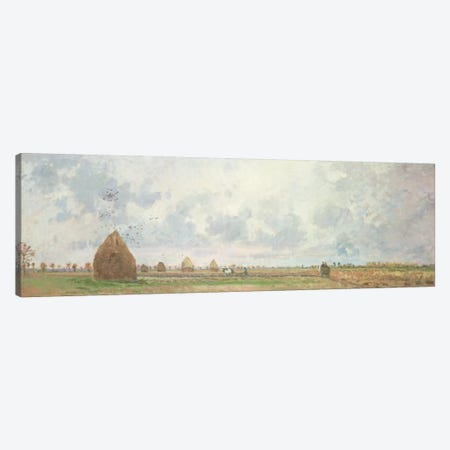 Four Seasons, Autumn, 1872 Canvas Print #BMN6651} by Camille Pissarro Canvas Wall Art