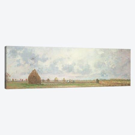 Four Seasons, Autumn, 1872 Canvas Print #BMN6651} by Camille Pissarro Canvas Wall Art