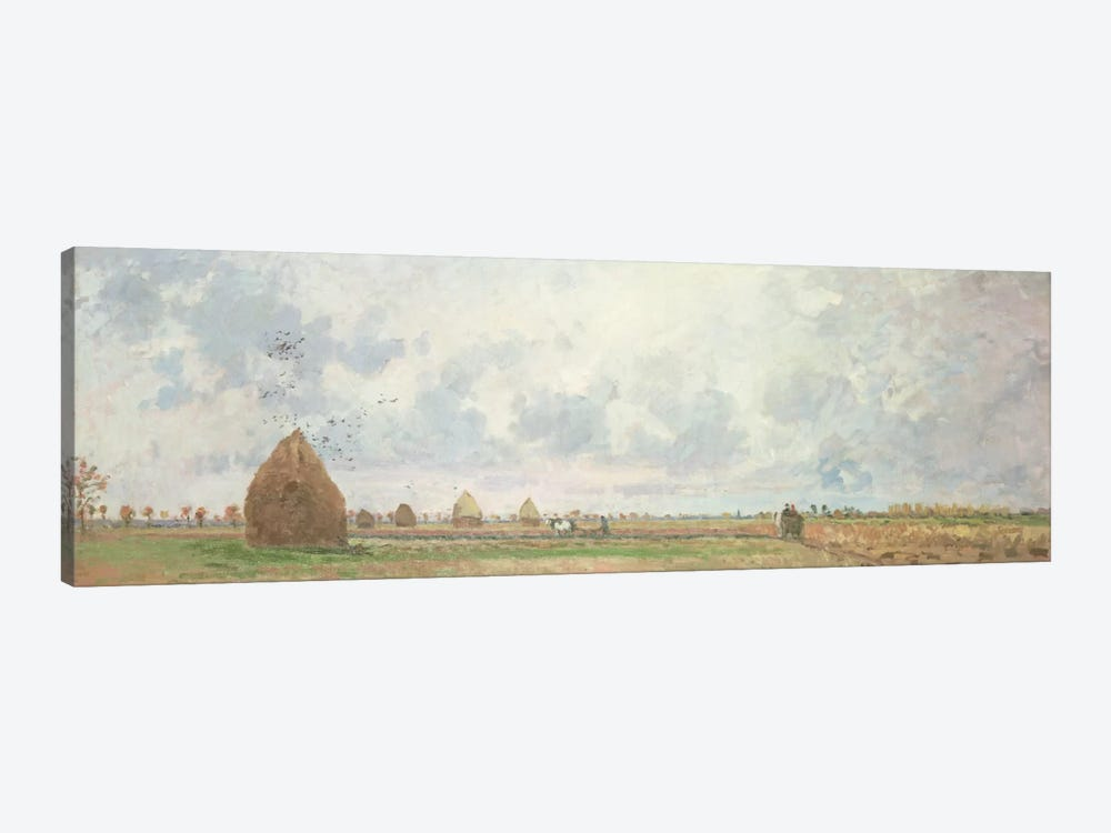 Four Seasons, Autumn, 1872 by Camille Pissarro 1-piece Canvas Art Print