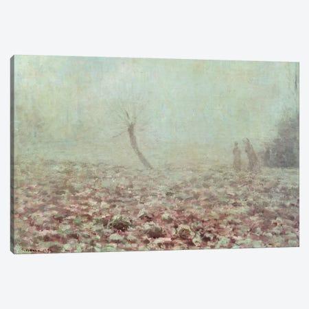 Landscape, 1874 Canvas Print #BMN6657} by Camille Pissarro Art Print