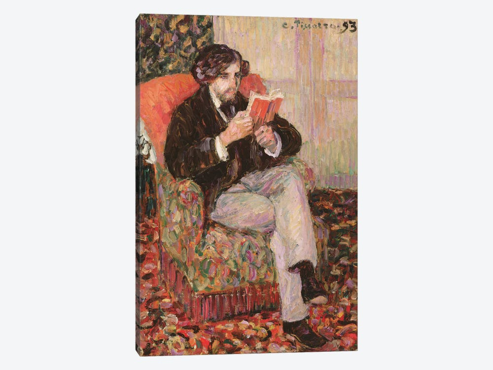 Portrait Of Felix, 1893 by Camille Pissarro 1-piece Canvas Wall Art