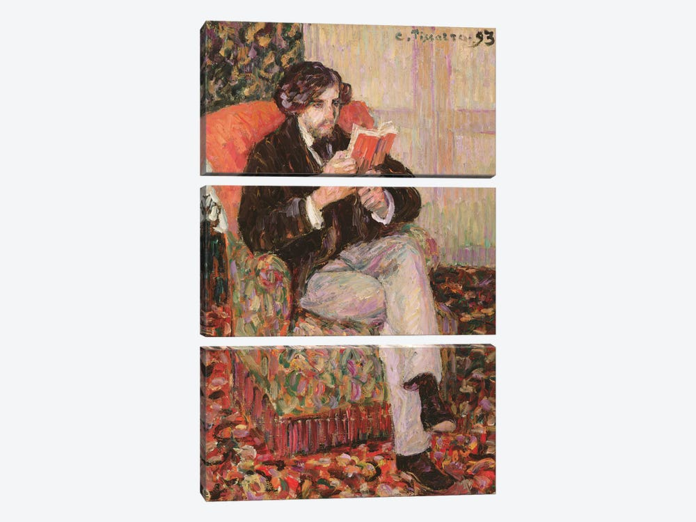 Portrait Of Felix, 1893 by Camille Pissarro 3-piece Canvas Artwork
